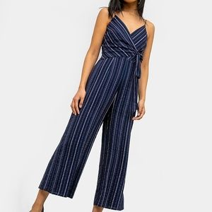 The Fifth Label Coast Striped Wide Leg Jumpsuit 6
